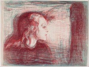 病める子 Ⅰ(1896年)