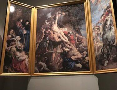 ルーベンス作「キリスト昇架」 (大塚国際美術館)