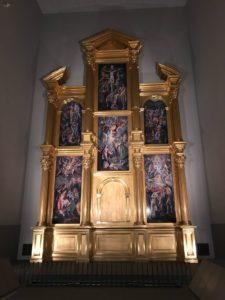 エル・グレコの祭壇衝立復元 (大塚国際美術館)