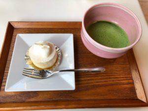 山種美術館 Cafe椿 ケーキセット