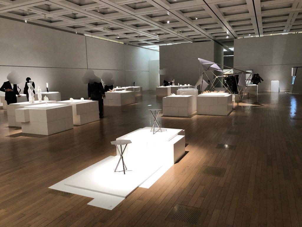 「もしかする未来」展 展示会場の様子。