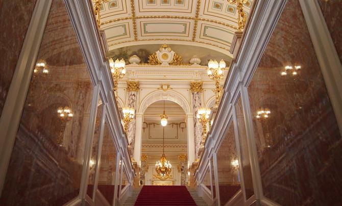 迎賓館赤坂離宮 正面階段と大ホール