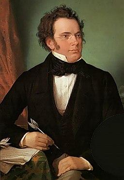 作曲家フランツ・シューベルト(1875年頃、ヴィルヘルム・アウグスト・リーダー) ウィーンミュージアム蔵 ※画像はwikimedia commonsより
