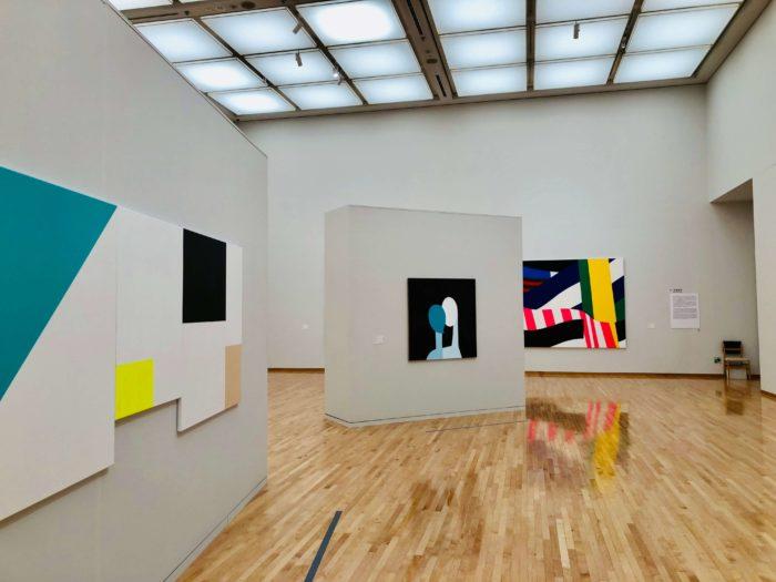 東京都現代美術館 コレクション展 展示室内