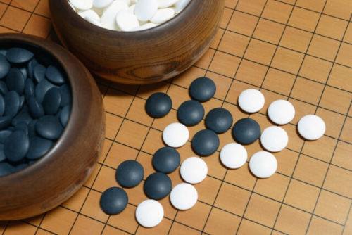 囲碁は、かつて中国で君子がたしなむべきとされた四芸のひとつ。