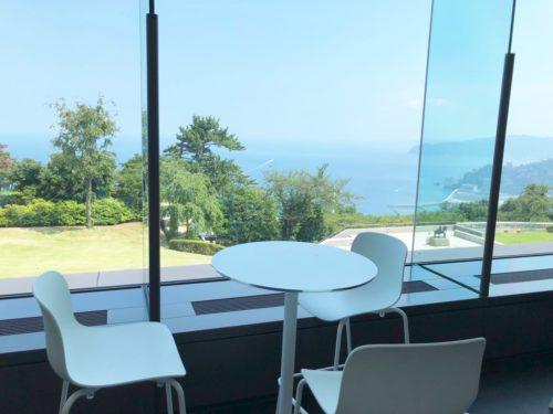 the cafeからの眺望(MOA美術館)